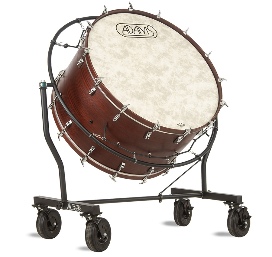 Bass Drum Mover by Jarvis Marching Band Products