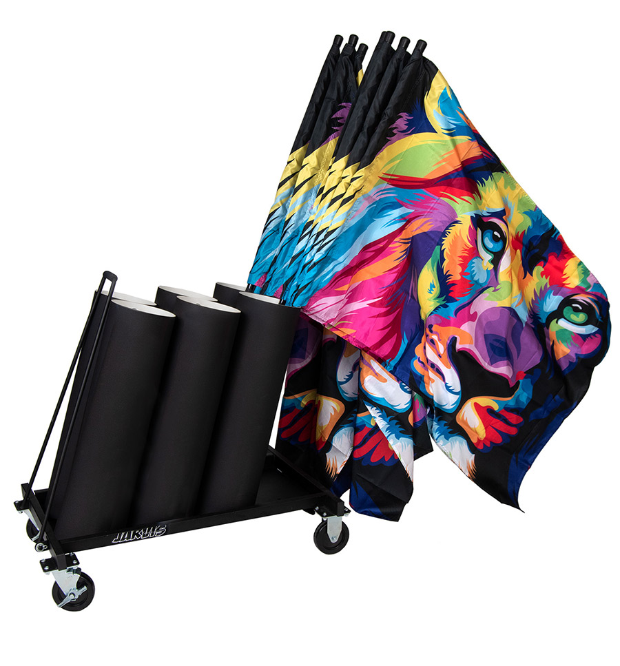 flag cart by jarvis marching band products